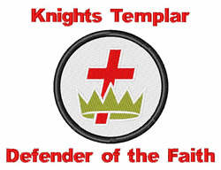Defender Of The Faith embroidery design