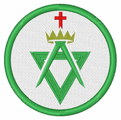 Allied Masonic Degrees embroidery design