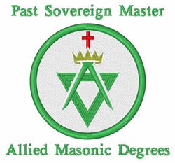 Past Sovereign Master embroidery design