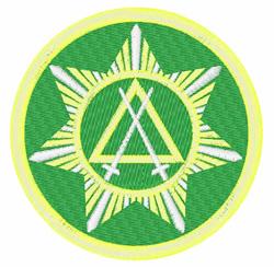 Masonry Council embroidery design