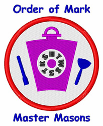 Order Of Mark embroidery design