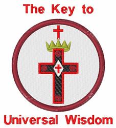 Universal Wisdom embroidery design