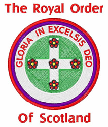 Order Of Scotland embroidery design