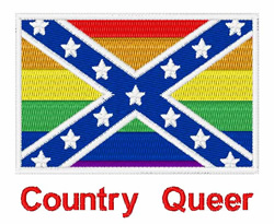 Country Queer embroidery design