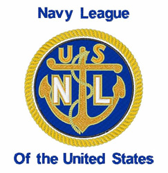 Navy League embroidery design