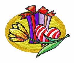 Valentine embroidery design