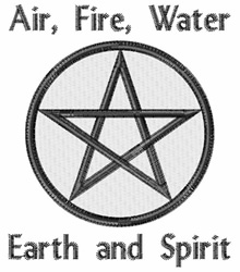 Earth And Spirit embroidery design