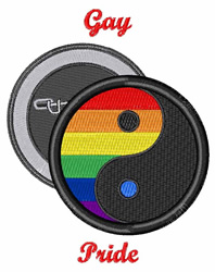 Gay Pride embroidery design