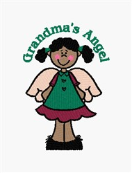 Grandmas Angel embroidery design