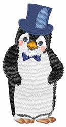 Penguin Groom embroidery design