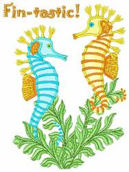 Fin-tastic embroidery design