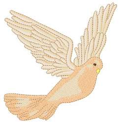 Dove Of Peace embroidery design