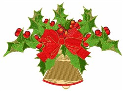 Bell Holly embroidery design