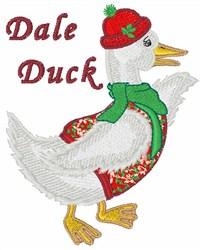 Dale Duck embroidery design