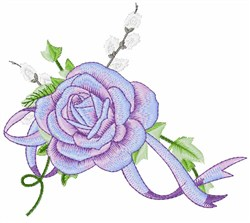Rose Corsage embroidery design