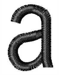 Arial Narrow a embroidery design