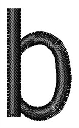 Arial Narrow b embroidery design