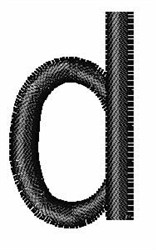 Arial Narrow d embroidery design