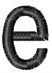 Arial Narrow e embroidery design