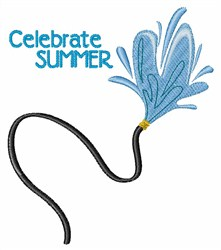 Celebrate Summer embroidery design