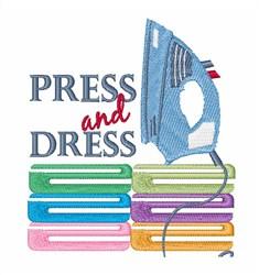 Press & Dress embroidery design