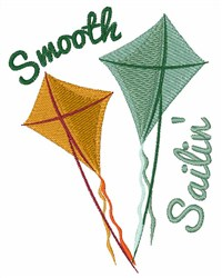 Smooth Sailing embroidery design