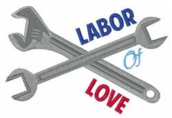Labor Of Love embroidery design