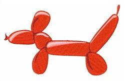 Balloon Doggy embroidery design