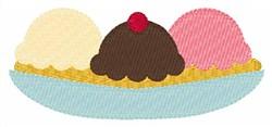Ice Cream Scoops embroidery design