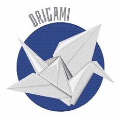 Origami embroidery design
