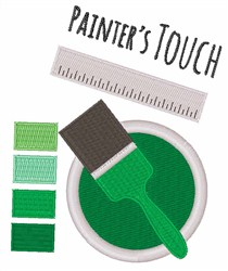 Painters Touch embroidery design