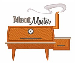 Meat Master embroidery design