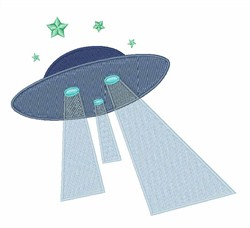 Sight The UFO! embroidery design