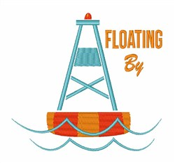 Floating By embroidery design