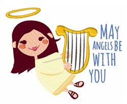 Angels With You embroidery design