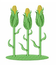 Corn Feast embroidery design