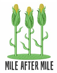 Mile After Mile embroidery design