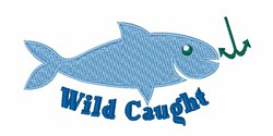 Wild Catch embroidery design
