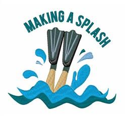Making A Splash embroidery design