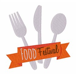 Food Festival embroidery design