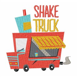 Shake Truck embroidery design