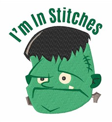 Im In Stitches embroidery design