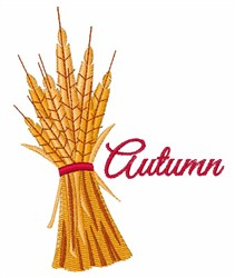 Autumn Wheat embroidery design