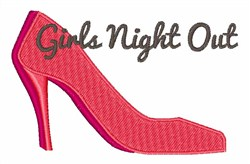 Girls Night Out Pumps embroidery design