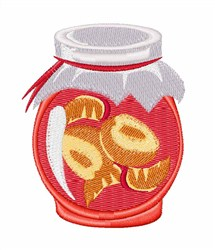 Canning Jar embroidery design