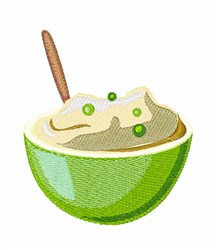 Mashed Peas embroidery design