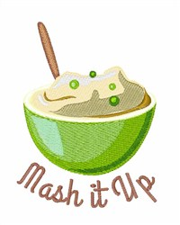 Mushy Peas embroidery design
