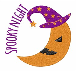 Spooky Night embroidery design