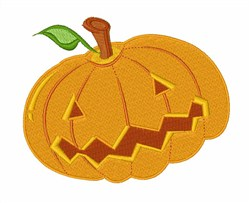 Halloween  Carved Pumpkin embroidery design
