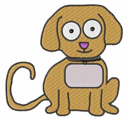 Best Friend Puppy embroidery design
